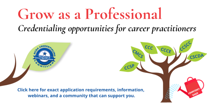 NCDA Credentialing - Grow as a Professional